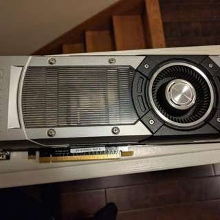 GTX 780 Nvidia Graphics card, perfectly working