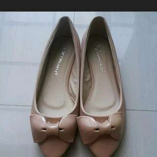 #booked#Icon Ninety Flat Shoes Nude Icon 90