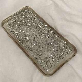 H&M Silver Sparkle Transparent Iphone 6 Case