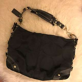 Coach Hobo (Black)