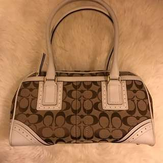Gucci Inspired Coach Satchel
