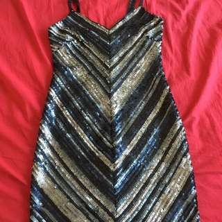BCBG Sequins Dress
