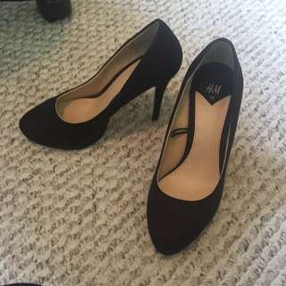 H&M Black Heels Size 36