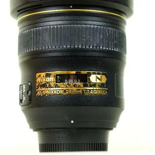 Nikon AF-S FX 24mm f/1.4G ED