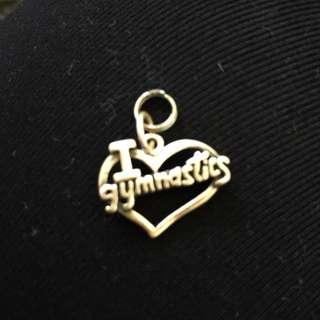 GYMNASTICS pendant
