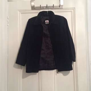Black Suede Jacket
