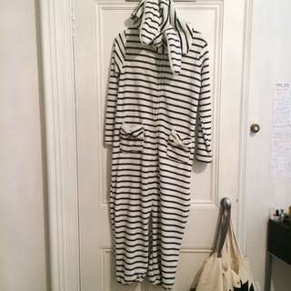 Stripey Super Soft Onesie