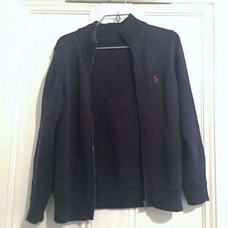 Ralph Lauren Zip Up Cardigan