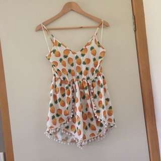 Pinapple Playsuit