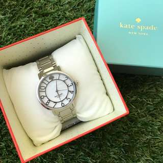 Kate Spade手錶 銀色