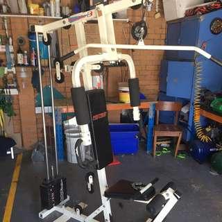 Multi-station Home Gym Machine
