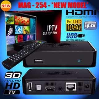IPTV Box - Mag 254 - The best IPTV Box in the Market