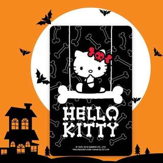 BN Limited Edition Hello Kitty Skull Swing Ezlink Card
