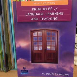 Principles Of Language Learning And Teaching Fifth Edition