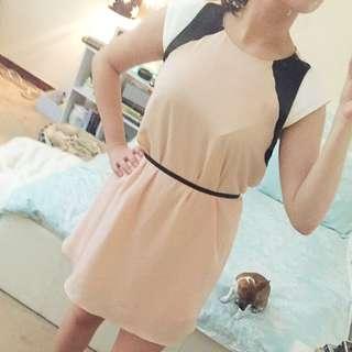 Tokito Pink Day Dress Chiffon
