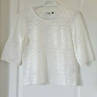BNWOT ONLY crochet top