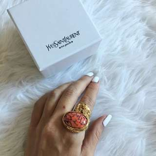 AUTHENTIC YSL RING - Size 6