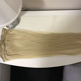 "22"" Blonde Clip-In Extensions (250g)"
