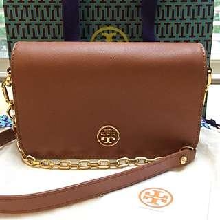 Tory Burch Robinson Adjustable Mini Chain Bag