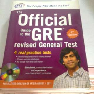 Official GRE Book