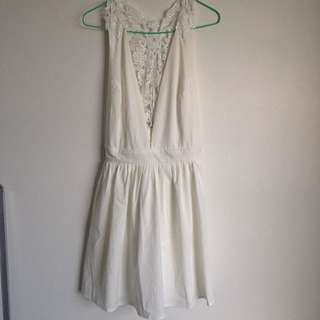White Showpo Dress