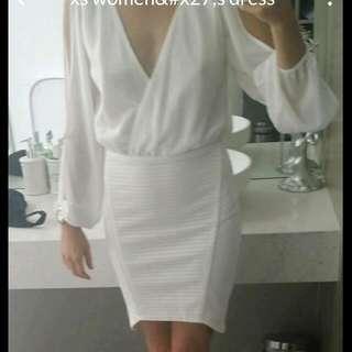 Xs Whiye Dress