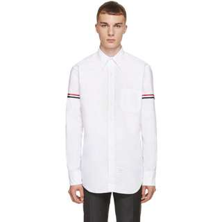 Thom Browne : Classic Armband Stripe Oxford Shirt
