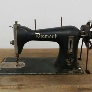 Vintage Diamond Sewing Machine