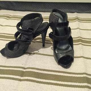 Charles N Keith Black Heels