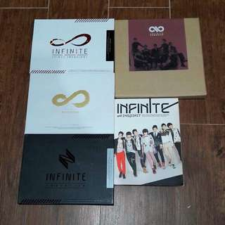 Infinite Korean Albums