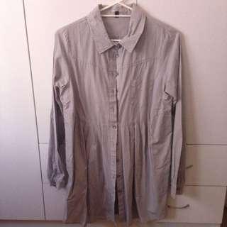 Cotton On Long Button Up Shirt Dress