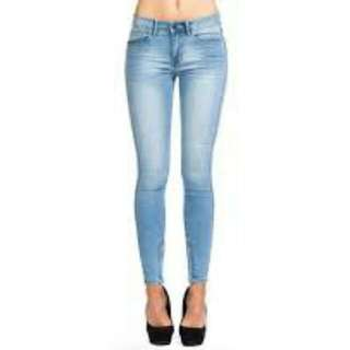 Lee Licks Jeans, Mid Rise, Size 6