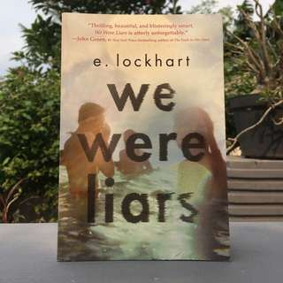 Book: WE WERE LIARS