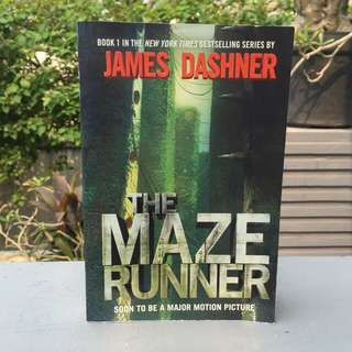 Book: THE MAZE RUNNER (THE MAZE RUNNER #1)