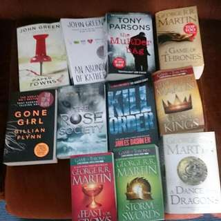Assorted Books Selling At 10 Nzd Each