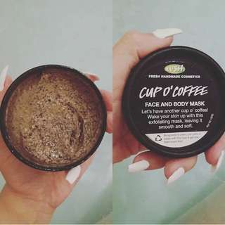 Cup'O Coffee Lush Facemask