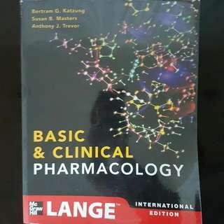 Katzun's Pharmacology 12th Ed.