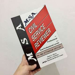 MSA Civil Service Reviewer