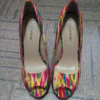 Call It Spring Rainbow Shoes