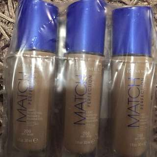 Rimmel Match Perfection Soft Beige Foundation