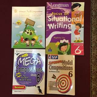 PSLE Model Composition & Situational Writing Books