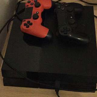 Ps4 500gb+ Games And Controller