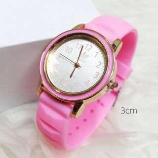 Jam Tangan Adidas Pink