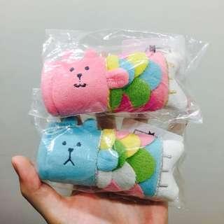 保留中🔸CRAFTHOLIC 全家 宇宙人 鯉魚旗 藍色熊熊 粉色兔兔 限定款 娃娃 吊飾