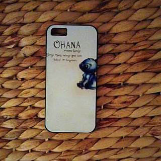 -- PRICE REDUCED -- Ohana Means Family iPhone 5/5s Hard Case Cover