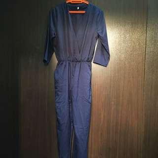 Dark Blue Jumpsuit