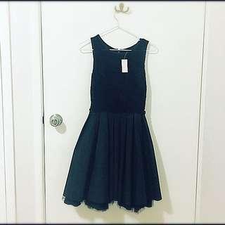 Dotti Black Lace Dress