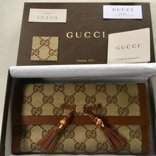 Authentic Gucci Bella Continental Wallet