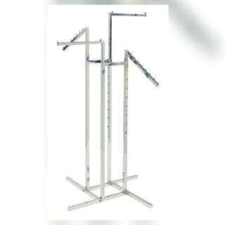 4way Clothes Rack (Stainless Steel)