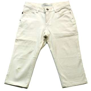 Fitted Trousers, White